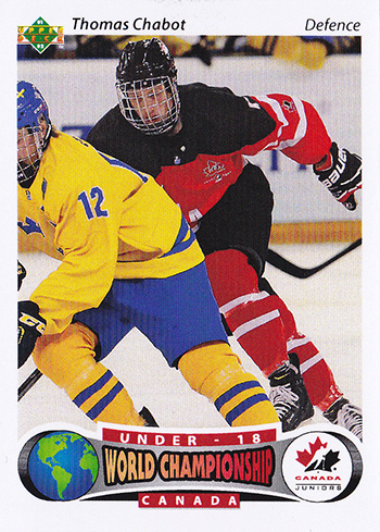 2016-17-NHL-Upper-Deck-Rookie-Radar-Ottawa-Senators-Thomas-Chabot-Retro-Team-Canada-Juniors