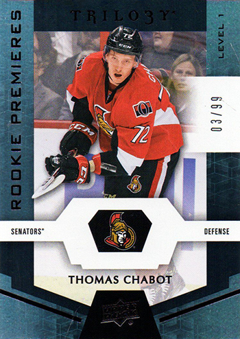 2016-17-NHL-Upper-Deck-Rookie-Radar-Ottawa-Senators-Thomas-Chabot-Trilogy-99