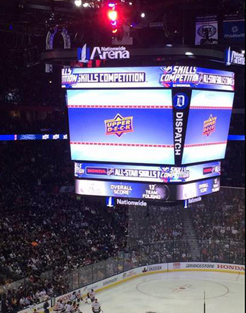 2017-NHL-All-Star-Fan-Fair-Weekend-Upper-Deck-Game-Activation-Sponsorship-Jumbotron