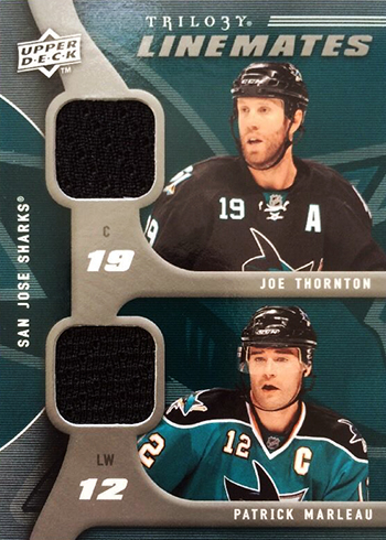 Joe Thornton And Patrick Marleau Are Skating Toward Nhl Career