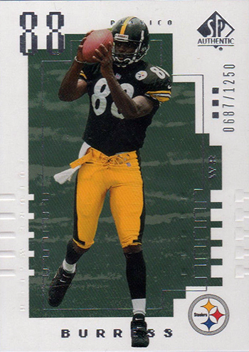 2000-Upper-Deck-SP-Authentic-Football-NFL-Best-Rookie-Cards-Plaxico-Burress