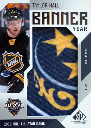 2016-17-NHL-SP-Game-Used-Banner-Year-Taylor-Hall