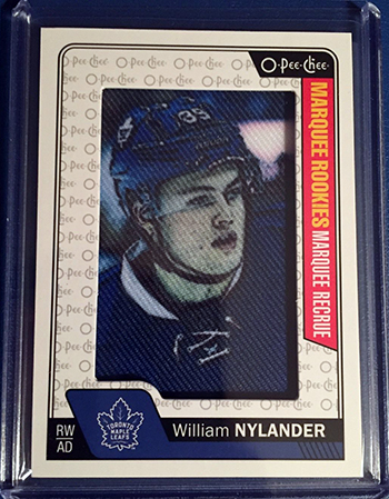 2016-17-NHL-Upper-Deck-Rookie-William-Nylander-Toronto-O-Pee-Chee-Rookie-Patch