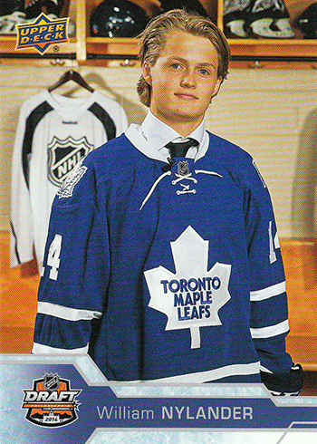 2016-17-NHL-Upper-Deck-Rookie-William-Nylander-Toronto-SP-Rookie-Draft-Day