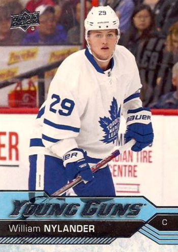 2016-17-NHL-Upper-Deck-Rookie-William-Nylander-Toronto-Young-Guns