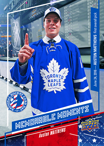 2017-Upper-Deck-National-Hockey-Card-Day-America-Auston-Matthews-Memorable-Moments