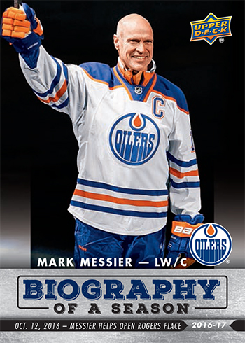 2016-17-Upper-Deck-NHL-Biography-of-a-Season-Edmonton-Oilers-Card1-Mark-Messier