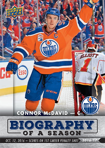 2016-17-Upper-Deck-NHL-Biography-of-a-Season-Edmonton-Oilers-Card2-Connor-McDavid
