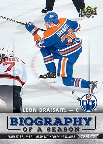 2016-17-Upper-Deck-NHL-Biography-of-a-Season-Edmonton-Oilers-Card9-Leon-Draisaitl