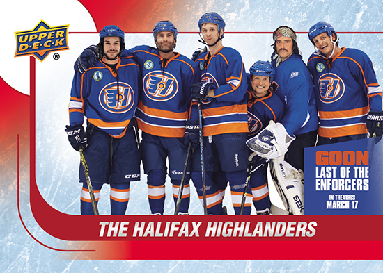 2017-Upper-Deck-Goon-Last-of-the-Enforcers-Trading-Cards-The-Halifax-Highlanders