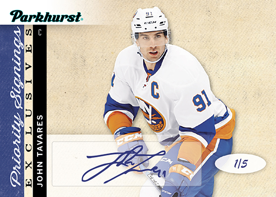 2017-Upper-Deck-Parkhurst-Priority-Signings-Spring-Expo-Exclusive-John-Tavares