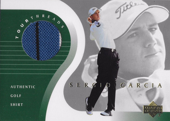 Sergio-Garcia-Masters-Champion-Upper-Deck-Tour-Threads-Rookie-Card
