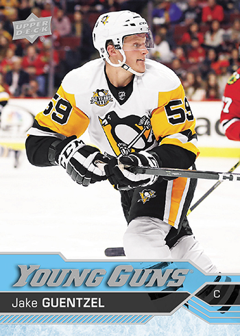 2016-17-Upper-Deck-Young-Guns-NHL-Autograph-Rookie-Jake-Guentzel