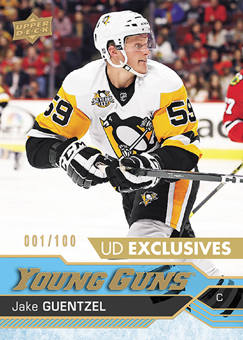 2016-17-Upper-Deck-Young-Guns-NHL-Rookie-Jake-Guentzel-UD-exclusive
