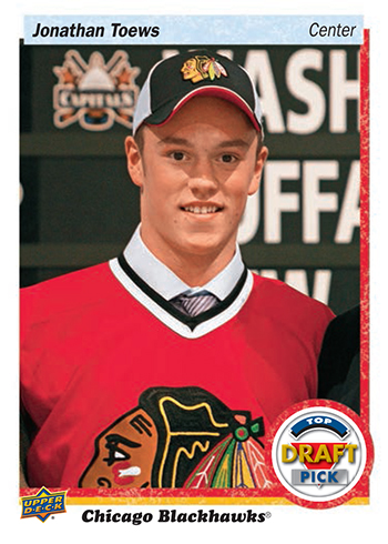 2017-Upper-Deck-NHL-Draft-Series-Two-Chicago-Blackhawks-Set-Jonathan-Toews
