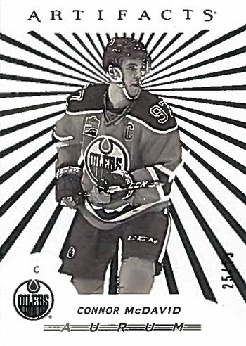 2017-18-Upper-Deck-NHL-Artifacts-White-Aurum-Bounty-Connor-McDavid