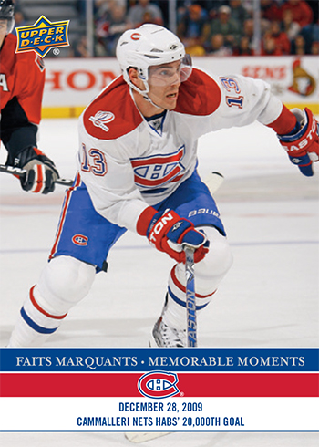 2017-LAnti-Expo-Montreal-Canadiens-Memorable-Moments-Set-2-Mike-Camalleri