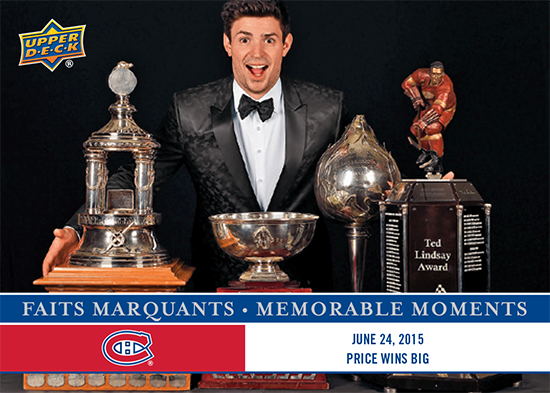 2017-LAnti-Expo-Montreal-Canadiens-Memorable-Moments-Set-6-Carey-Price