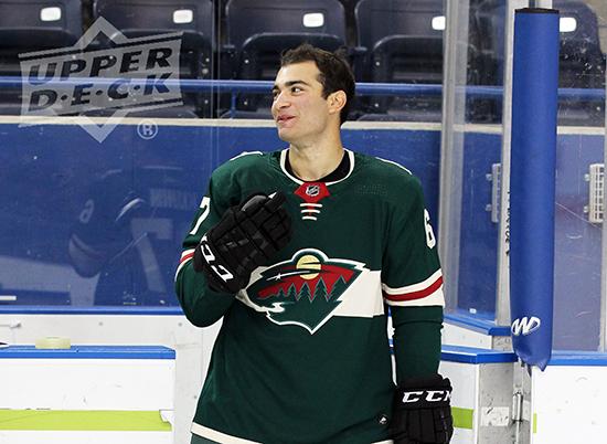 2017-NHLPA-Rookie-Showcase-Upper-Deck-Luke-Kunin-Minnesota-Wild