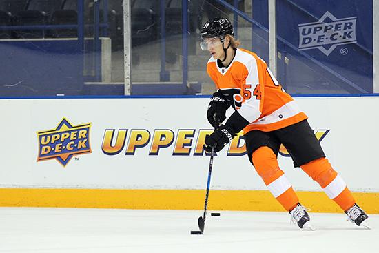 2017-NHLPA-Rookie-Showcase-Upper-Deck-Oskar-Lindblom-Philadelphia-Flyers