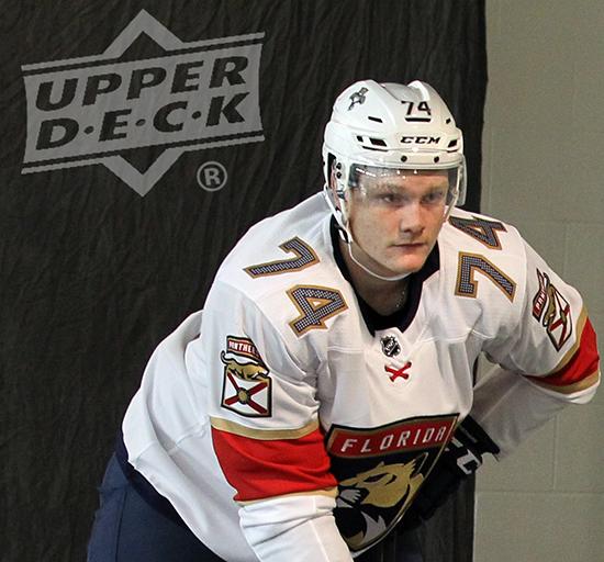 2017-NHLPA-Rookie-Showcase-Upper-Deck-Owen-Tippett-Florida-Panthers