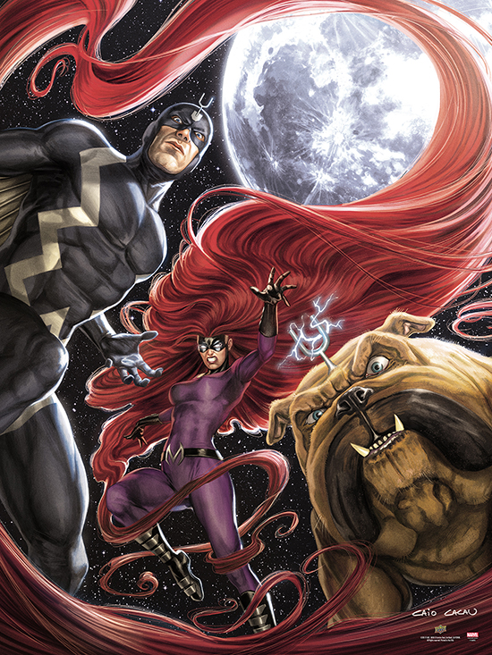 2017-Upper-Deck-September-Marvel-Inhumans-UDGallery-Fine-Art-Print-Variant-Moon