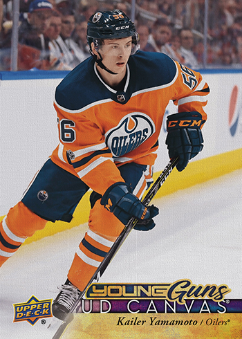 2017-18-NHL-Upper-Deck-Series-One-Young-Guns-Canvas-Kailer-Yamamoto