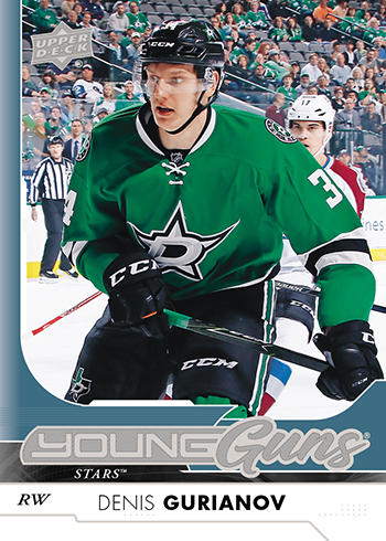 2017-18-NHL-Upper-Deck-Series-One-Young-Guns-Denis-Gurianov