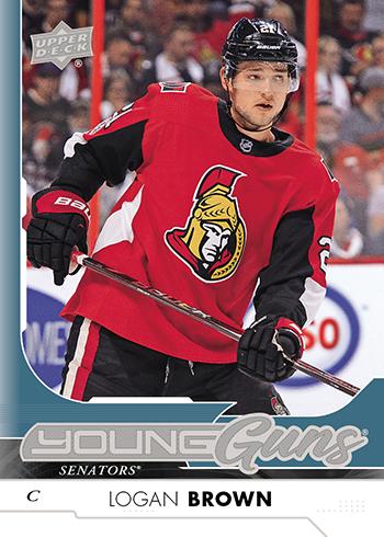 2017-18-NHL-Upper-Deck-Series-One-Young-Guns-Logan-Brown