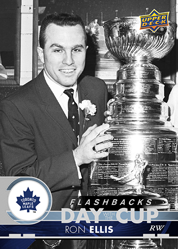 2017-18-Upper-Deck-Fall-Expo-Day-With-The-Cup-Toronto-Maple-Leafs-Flashback-Ron-Ellis
