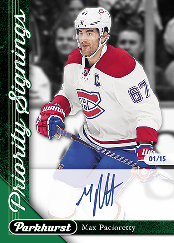 2017-Upper-Deck-Fall-Expo-Priority-Signings-Autograph-Max-Pacioretty