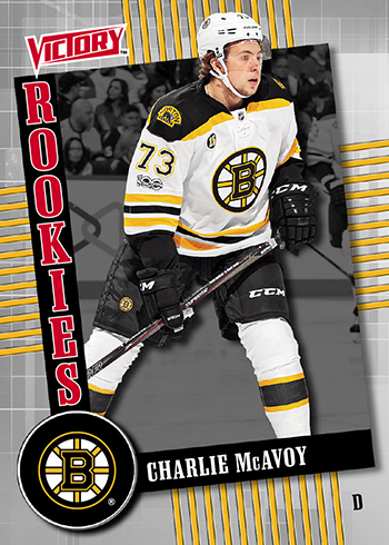 2017-Upper-Deck-Fall-Expo-Victory-Black-Rookie-Charlie-McAvoy