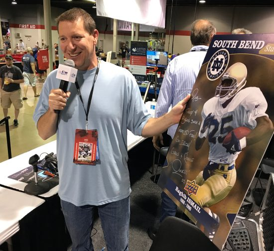 2017-national-sports-collectors-convention-chicago-upper-deck-collect-notre-dame-rob-bertrand-rocket-ismail