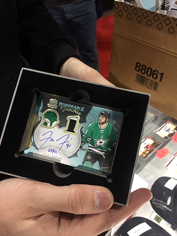 Upper-Deck-Sport-Card-Expo-Collector-Scores-Big-with-2016-17-NHL-The-Cup-Tyler-Seguin-Autograph-Patch
