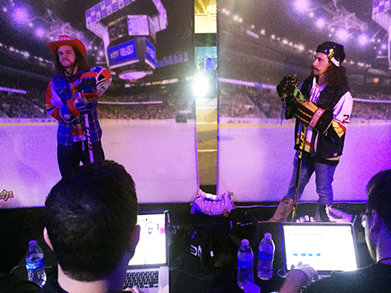 2018-NHL-All-Star-Upper-Deck-Personalized-P-Card-on-the-bench-crew-jacob-olly-1