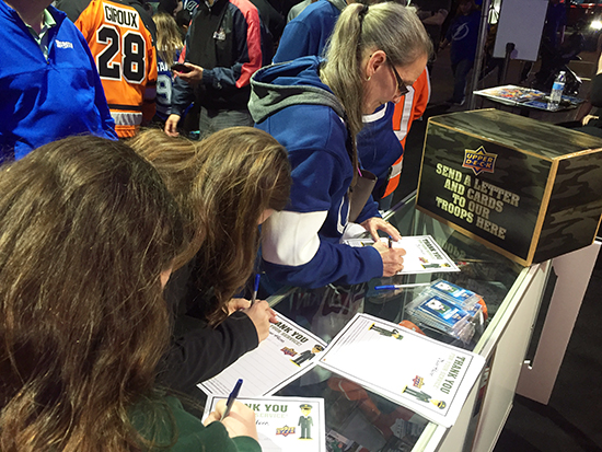 2018-NHL-All-Star-Upper-Deck-military-appreciation-operation-gratitude-letters-to-the-troops-fans-3
