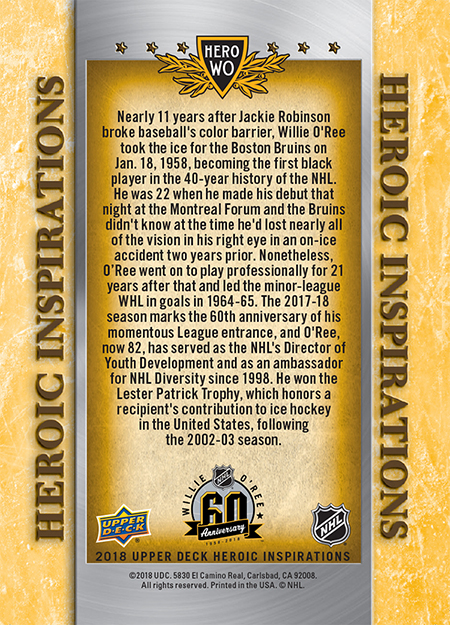2018-Upper-Deck-Heroic-Inspiration-Willie-ORee-Boston-Bruins-60-Year-Anniversary-Back