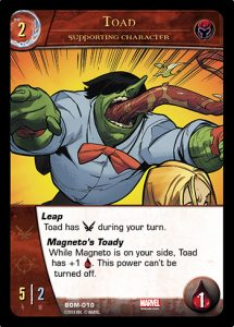 2018-upper-deck-marvel-vs-system-2pcg-toad-supporting-character
