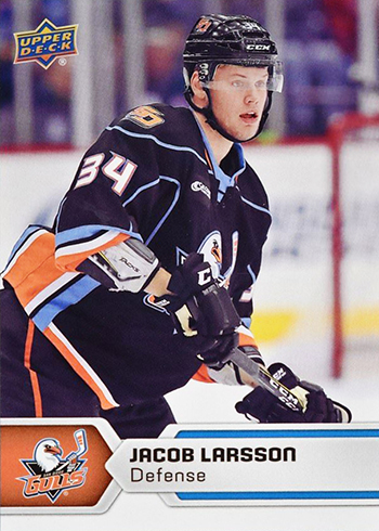 2017-18-Upper-Deck-AHL-Hockey-Trading-Cards-XRC-Jacob-Larsson-San-Diego-Gulls