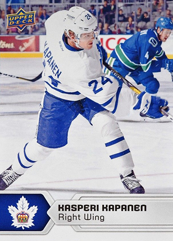 2017-18-Upper-Deck-AHL-Hockey-Trading-Cards-XRC-Kasperi-Kapanen-Toronto-Marlies
