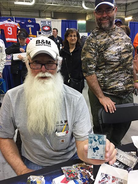 2018-Upper-Deck-Summit-Show-Edmonton-Big-Pulls-Cards-Printing-Plate-Santa