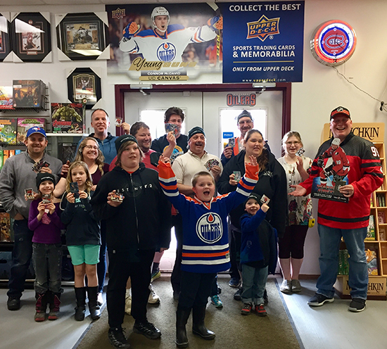 Cards-to-Collectibles-Wetaskawin-Event-Upper-Deck-Group-Shot