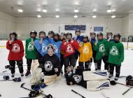 Upper Deck NHL® Cards Bring Smiles to the Faces of Young Hockey Players in Edmonton