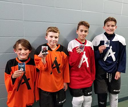 Youth-Hockey-Upper-Deck-Millennium-Place-Transcend-Athletics-Kids-Sampling-Marketing-Promotion-8