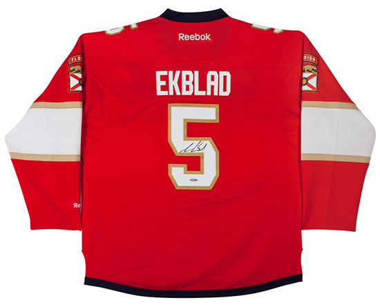 aaron-ekblad-autographed-florida-panthers-red-premier-jersey-86425
