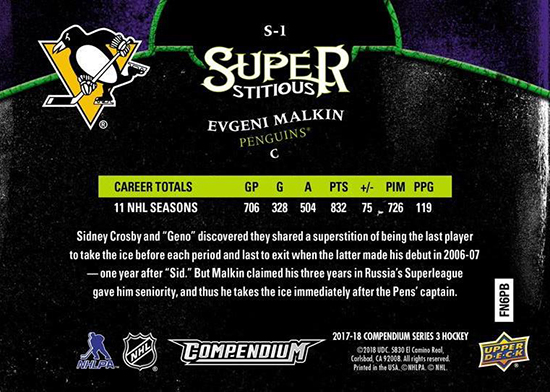 2017-18-Upper-Deck-Compendium-Superstitious-Stuperstition-S1-Evgeni-Malkin-Back