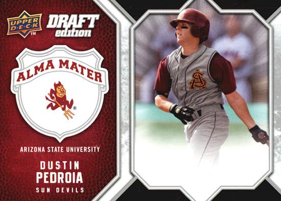 Moose-Dustin-Pedroia-Upper-Deck-Wallet-Card-ASU-Sun-Devils-Graduation-2
