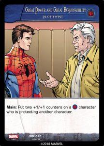 2018-upper-deck-vs-system-2pcg-marvel-spider-friends-plot-twist-great-power-responsibility