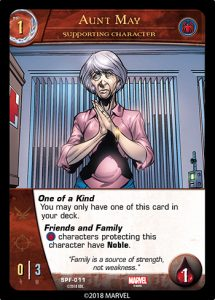 2018-upper-deck-vs-system-2pcg-marvel-spider-friends-supporting-character-aunt-may
