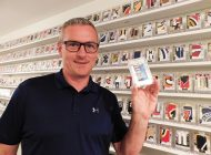 Jay Jokisch has an Incredible Upper Deck Premier Mega Patch Collection